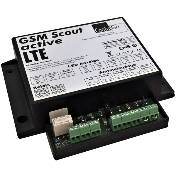 GSM Scout active LTE